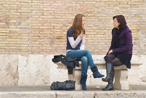 Sunday morning in Piazza del Popolo, Nov 2009 - 46